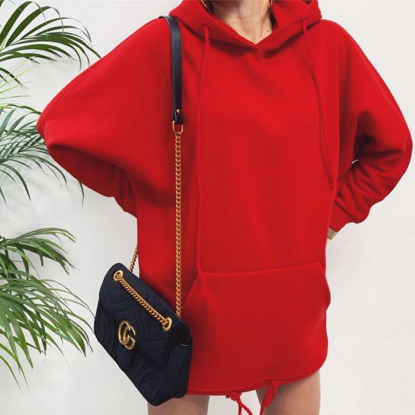 Совместные покупки на Худи женский красный