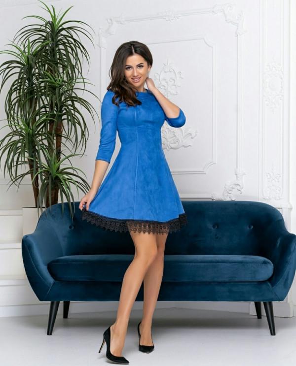 Совместные покупки на Платье женское электрик