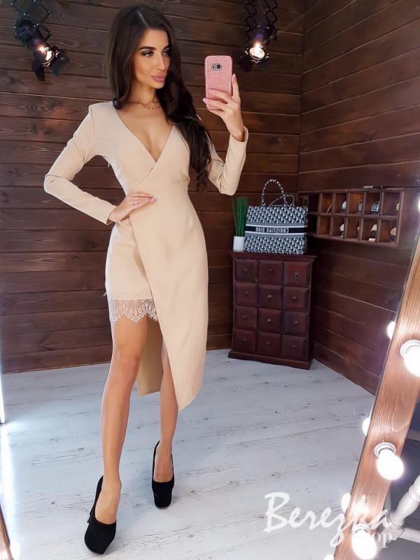 Совместные покупки на Платье женское бежевое