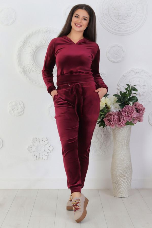 Совместные покупки на Спортивный костюм женский бордовый