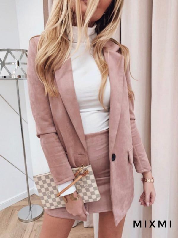 Совместные покупки на Костюм женский пиджак и юбка пудра