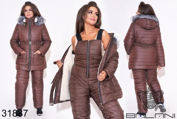 Совместные покупки на Комбинезон женский коричневый