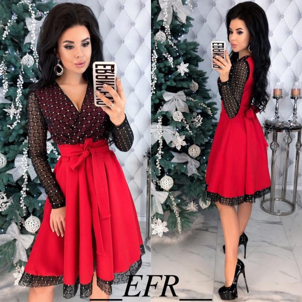 Совместные покупки на Платье женское красное