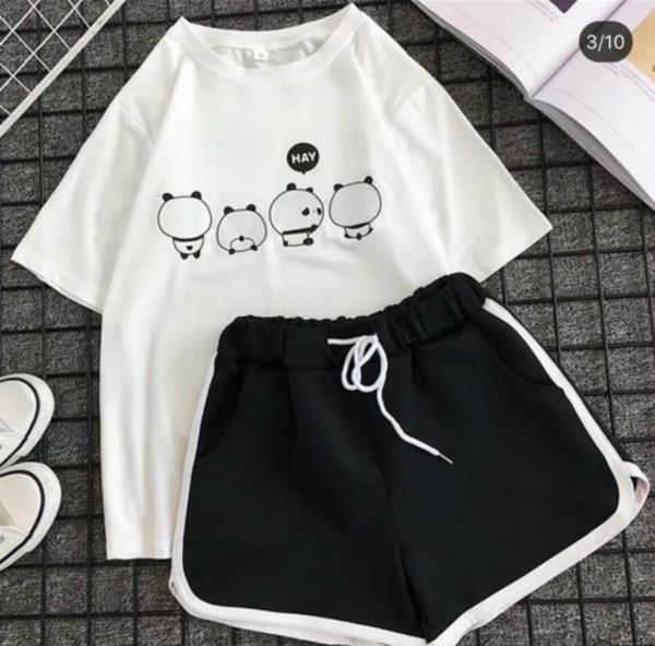 Совместные покупки на Костюм футболка и шорты