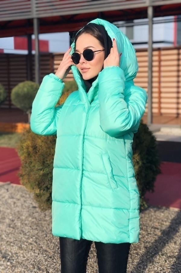 Совместные покупки на Куртка женская мятная