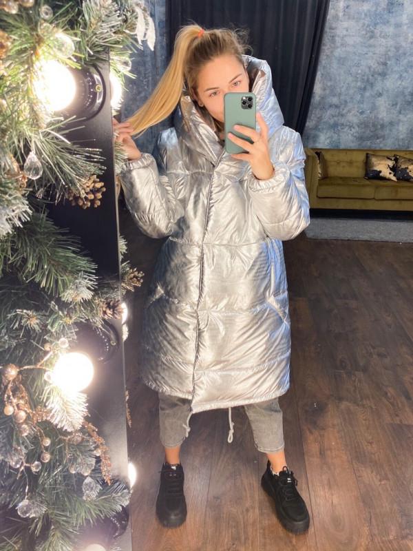 Совместные покупки на Куртка женская серебро