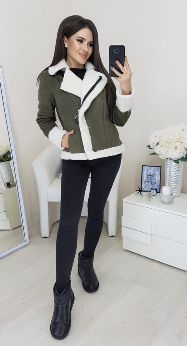 Совместные покупки на Куртка женская зеленая