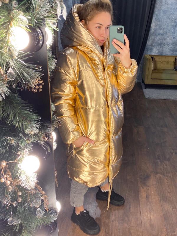 Совместные покупки на Куртка женская золотая