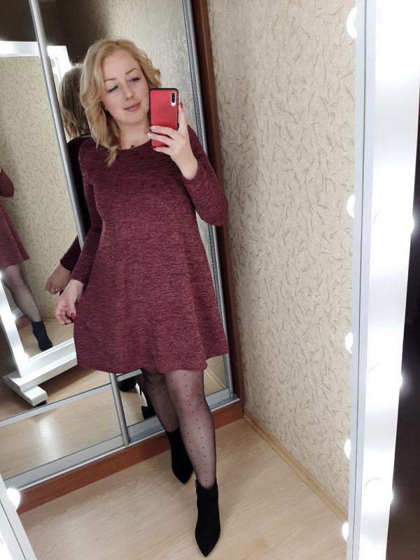 Совместные покупки на Платье женское бордовое