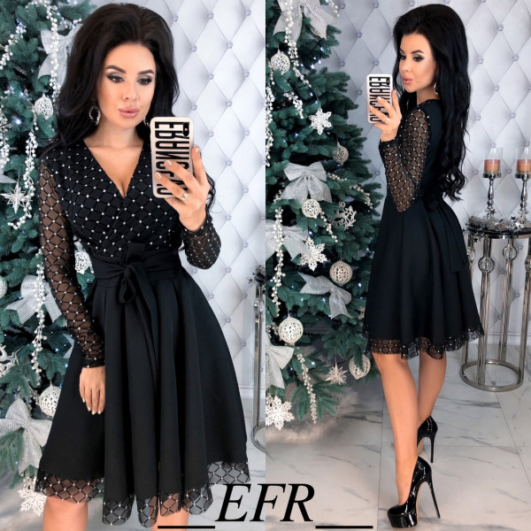 Совместные покупки на Платье женское черное