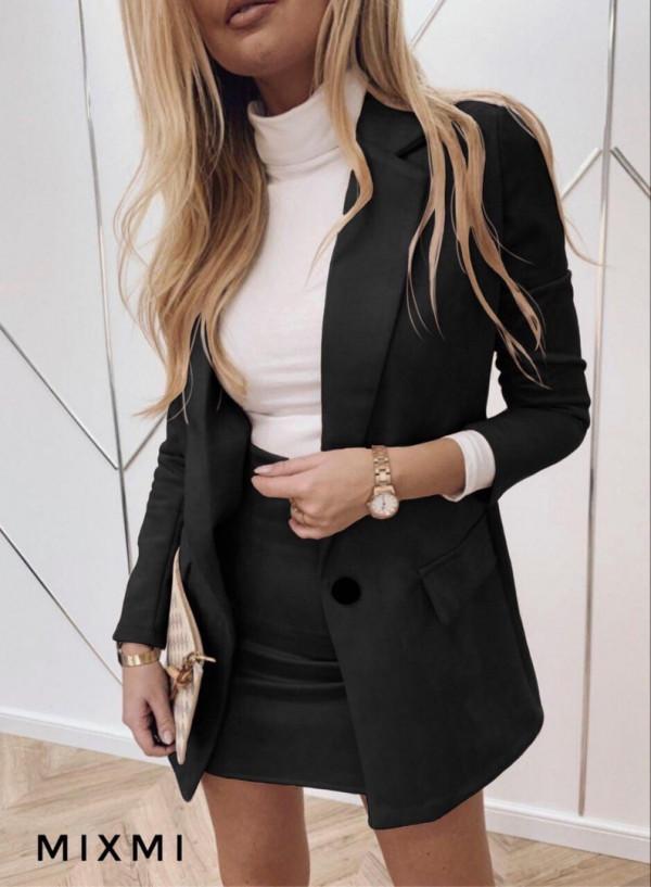 Совместные покупки на Костюм женский пиджак и юбка черный