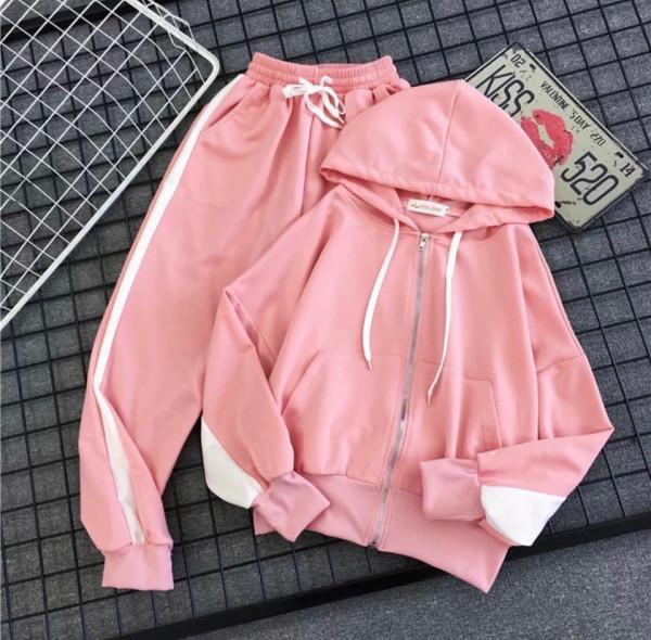 Совместные покупки на Спортивный костюм розовый