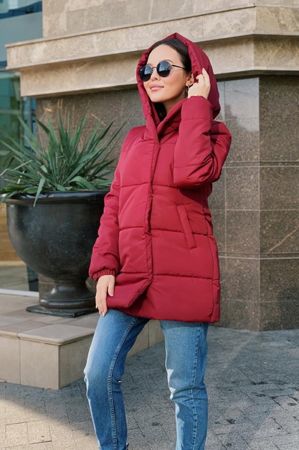 Совместные покупки на Куртка женская бордовая