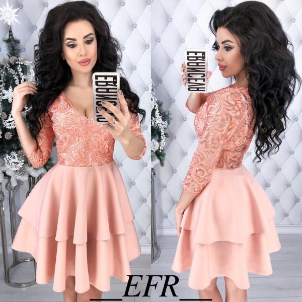 Совместные покупки на Платье женское персик