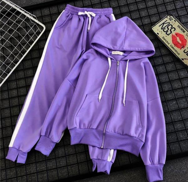 Совместные покупки на Спортивный костюм фиолетовый