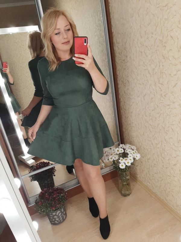 Совместные покупки на Платье женское зеленое